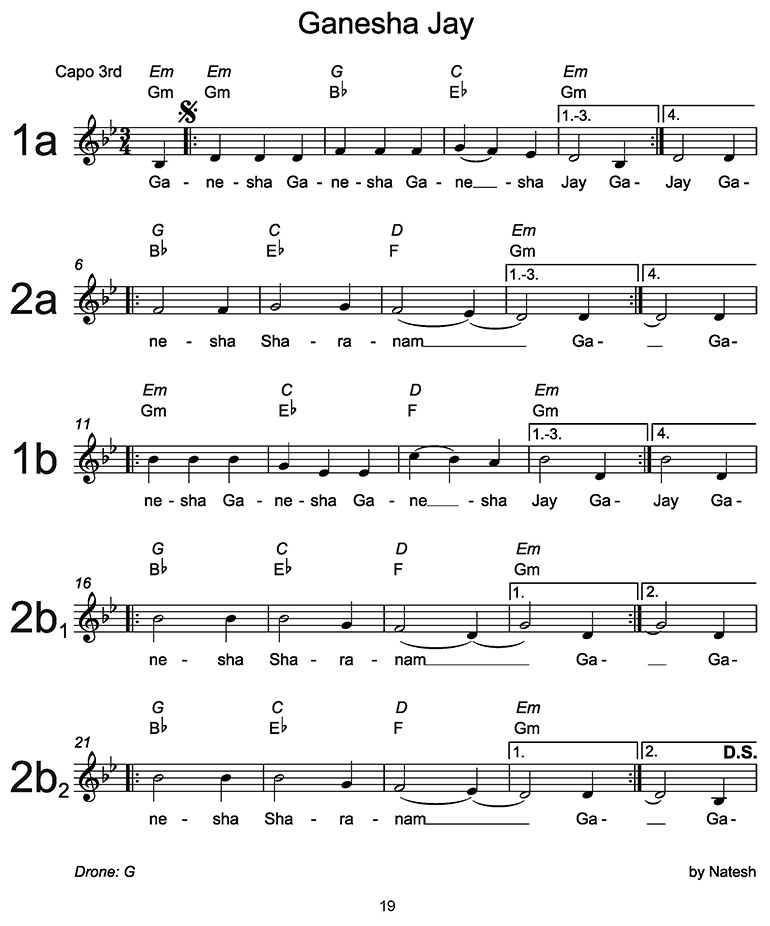 Ganesha Jay Sheet Music