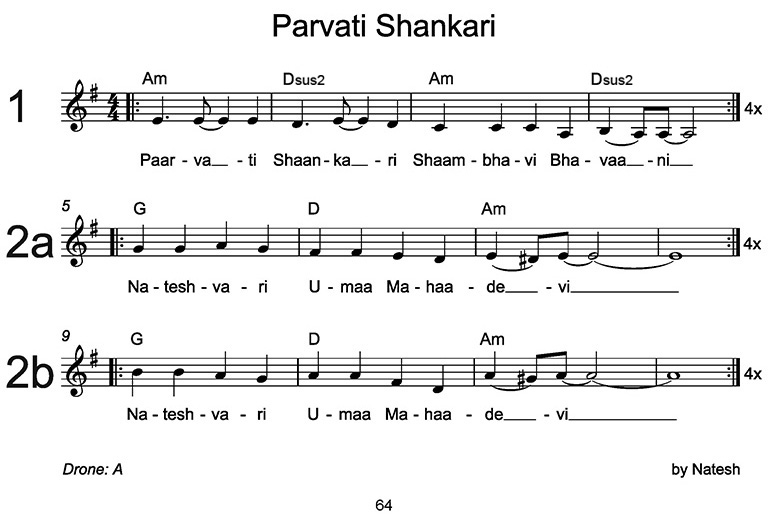 Parvati Shankari Sheet Music