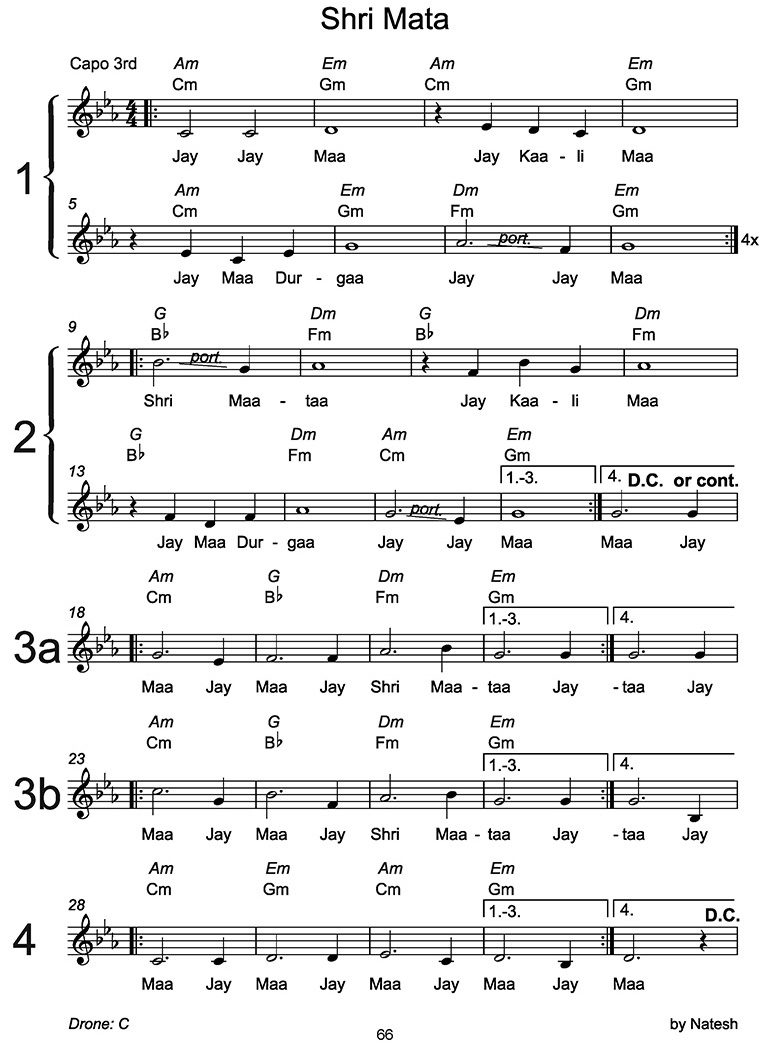 Shri Mata Sheet Music